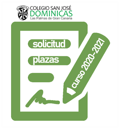 Solicitud plaza 2020 - 2021